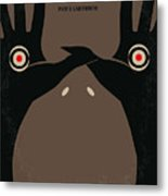 No061 My Pans Labyrinth Minimal Movie Poster Metal Print