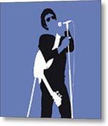 No068 My Lou Reed Minimal Music Poster Metal Print