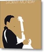 No070 My Tbone Walker Minimal Music Poster Metal Print