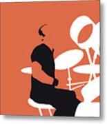 No163 My Phil Collins Minimal Music Poster Metal Print