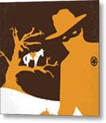 No202 My The Lone Ranger Minimal Movie Poster Metal Print