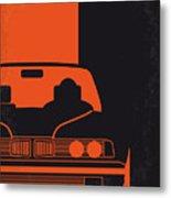No552 My The Transporter Minimal Movie Poster Metal Print