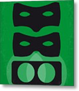 No561 My The Green Hornet Minimal Movie Poster Metal Print
