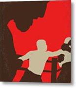 No723 My Southpaw Minimal Movie Poster Metal Print