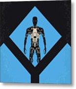No802-4 My The Terminator 4 Minimal Movie Poster Metal Print