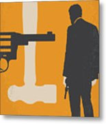 No854 My Payback Minimal Movie Poster Metal Print