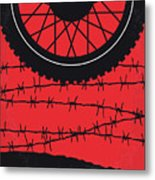 No958 My The Great Escape Minimal Movie Poster Metal Print