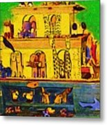 Noahs Ark From My Point Metal Print