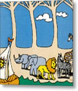 Noah's Ark Metal Print by Genevieve Esson