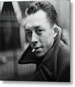 Nobel Prize Winning Writer Albert Camus Unknown Date #2 -2015 Metal Print