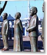 Nobel Square  /  To Honor South Africa's Four Nobel Peace Prize Laureates Metal Print
