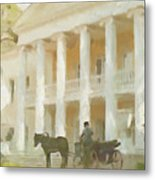 Noble Mansion Of The 19th Century In Russia Metal Print