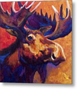 Noble Pause Metal Print by Marion Rose