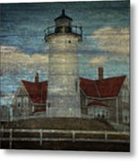 Nobska Lighthouse 2 Metal Print