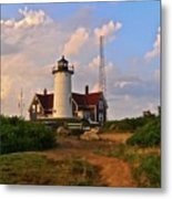 Nobska Lighthouse Metal Print