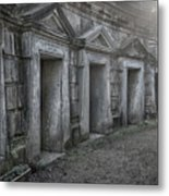 Nocturnal Alley Metal Print