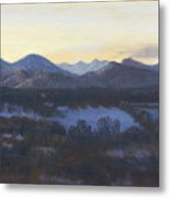 Nocturne On The Front Range Of Colorado Metal Print