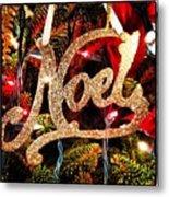 Noel Ornament Metal Print