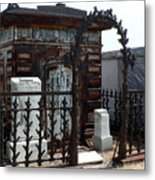 Nola Family Tomb Metal Print