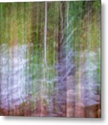 Noland Creek Abstract 1 Metal Print