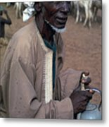 Nomad In Senegal Metal Print