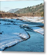 Nooksack River On A December Afternoon Metal Print
