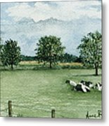 Noonday Respite Metal Print