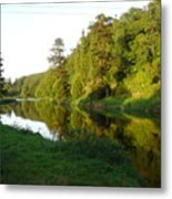 Nore Reflections I Metal Print