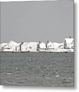 Nor'easter Hits Sandy Neck Metal Print