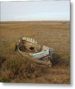 Norfolk Coast Metal Print