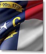 Norh Carolina State Flag Metal Print