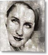 Norma Shearer, Actress Metal Print