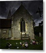 Norman Church At Lissing Hampshire England Metal Print