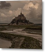 Normandy Clouds Metal Print