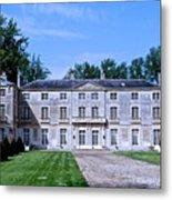 Normandy Manor House Metal Print