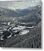 Norquay Banff Town Views Metal Print