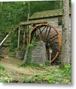 Rice Grist Mill II Metal Print