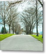 Norristown Farm Park Over The Rise Metal Print