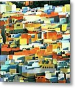 North African Townscape Metal Print