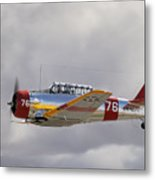 North American Harvard  Vh-nzh Metal Print by Barry Culling