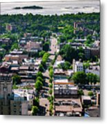North Ave New Rochelle Metal Print