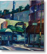 North Beach Metal Print