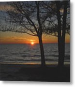 North Beach Sunset Metal Print