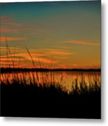 North Bridge Park Sunset Metal Print