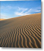 North Carolina Jockey's Ridge State Park Sand Dunes Metal Print
