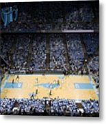 North Carolina Tar Heels Dean E. Smith Center Metal Print by Replay Photos