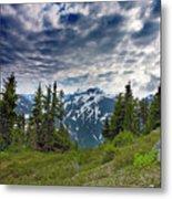 North Cascades National Park - Washington Metal Print by Brendan Reals