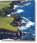 North Coast Of Maui Metal Print