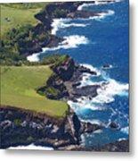 North Coast Of Maui Metal Print