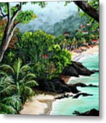 North Coast Tobago Metal Print